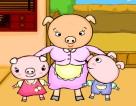 豬媽媽豬寶寶